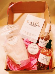 Laila London Rose Beauty Box