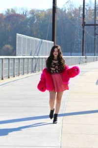 faux fur fall fashion